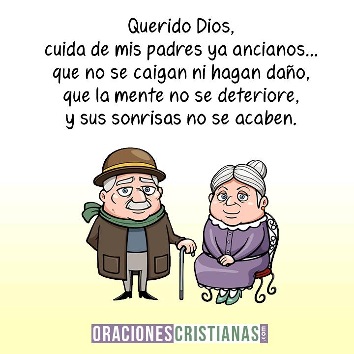 Oración por nuestros padres ancianos